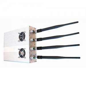 Adjustable High Power Desktop Signal Jammer for GPS, Cell Phone (Extreme Cool Edition)