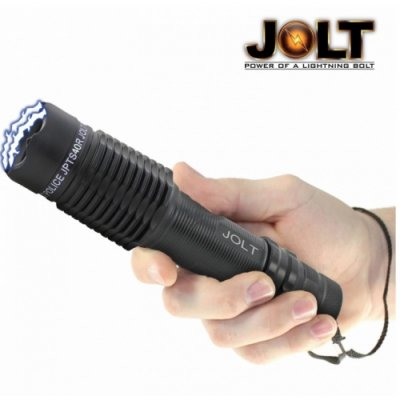 Jolt Police 50 Million Volt Tactical Stun Gun Flashlight