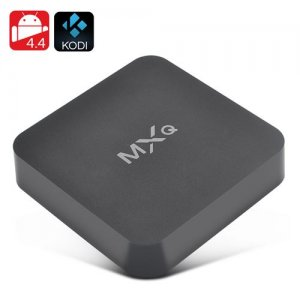 MXQ Android TV Box - Kodi V16.0, Quad Core CPU, 4x USB, H.265 Decoding, Airplay, DLNA, Miracast