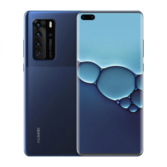 HUAWEI P40 Pro Android 11.0 OS 6.58 inch 50MP Quad Rear Camera Wireless Charge 8GB RAM Kirin 990 Octa core 5G Smartphone - Click Image to Close