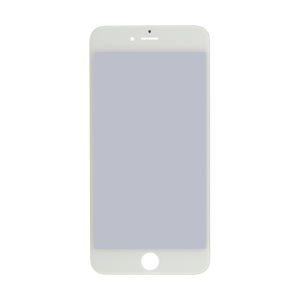 iPhone 6s Plus Glass Lens Screen, Frame, OCA and Polarizer Assembly (CPG) - White