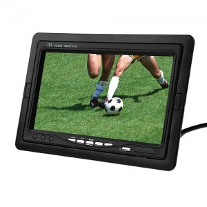 "7"" TFT LCD Car Rearview Color Monitor DVD VCR"