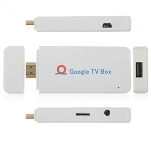 A00 Mini Android TV Box Andriod PC Android 9.1 A10 1G RAM HDMI TF 4GB- White