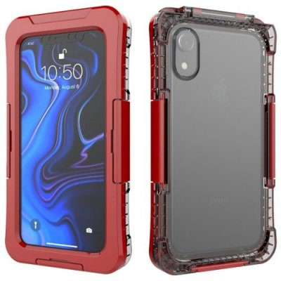 Protective IPX8 Waterproof Full Body Phone Case for iPhone XR - RED