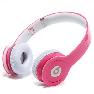 Beats By Dr Dre Solo High-Definition On-Ear Rose Headphones