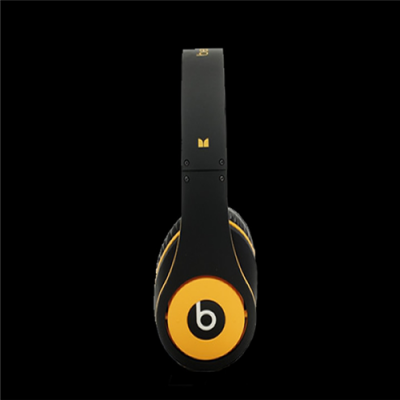 Beats By Dr Dre Studio Over-Ear Black/Yellow Headphones