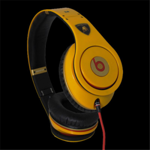 Beats By Dr Dre lamborghini Limited Yellow Headphones