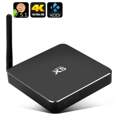 Android 11.0 Smart TV Box - 4K Support, H.264 Encoding, Quad Core 64-bits Cortex-A53, Kodi 15.1