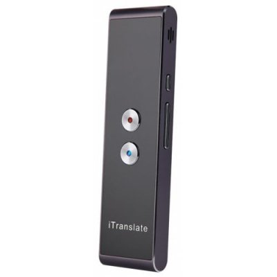 T8 Pocket Intelligent Multilingual Translator Device - BLACK
