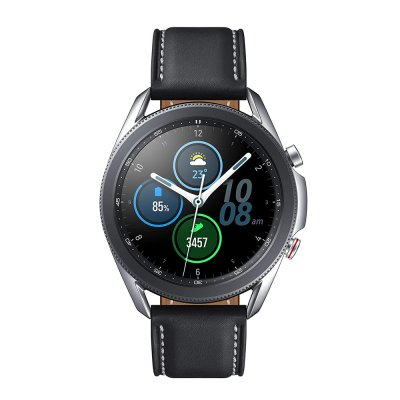 Samsung Galaxy Watch 3 GPS 45mm Bluetooth Unlocked 4G LTE Smart Watch with Advanced Health Monitoring Fitness Tracking and Long Lasting Battery