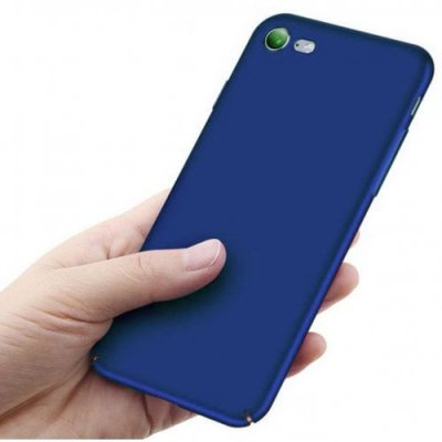 for iPhone 12 Case Shock-Absorptionskid-Proof Case Slim Fit Shell Hard Plastic Full Protective Anti-Scratch Resistant Cover Case - BLUE