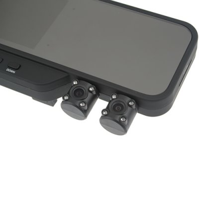 "3.5"" TFT Dual Camera HD Car Vehicle Blackbox DVR SD Card Slot TV Out"