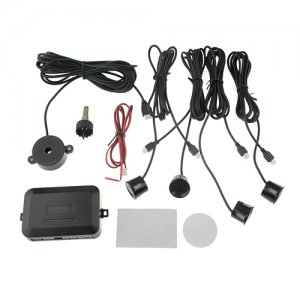 Car Parking Reverse Backup Rear Radar 4 Sensor System