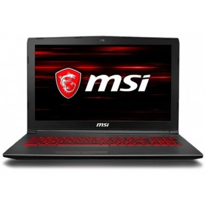 MSI GV62 8RD - 093CN Gaming Laptop 15.6 inch - BLACK