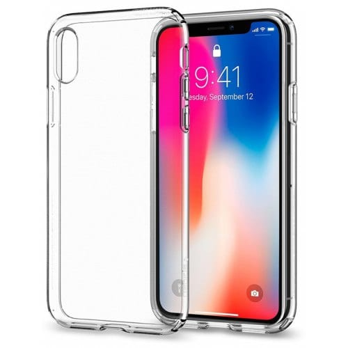 Tochic Tpu Protective Soft Case for iPhone X - TRANSPARENT