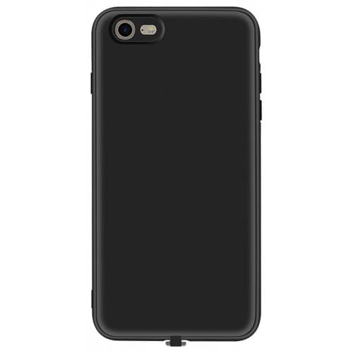 Multi-function Wireless Charging Receiver Case for iPhone 6 - 6s - BLACK