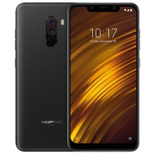 Xiaomi Pocophone F1 6.18 inch 4G Phablet Global Version - GRAPHITE BLACK