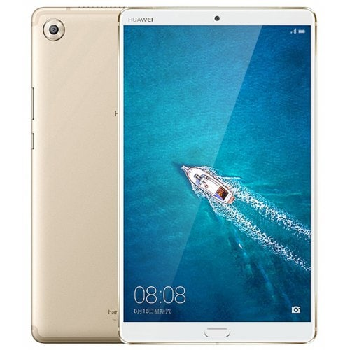HUAWEI MediaPad M5 ( SHT - W09 ) Tablet PC 4GB + 128GB Internatinal Version - CHAMPAGNE GOLD