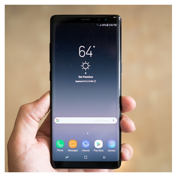 Samsung Galaxy Note 8 Android 9.1 Phone Snapdragon 835 CPU RAM 6GB 3.0 GHZ 16MP Camera 64GB 4G LTE