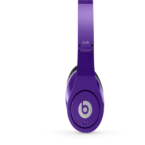 Beats by Dr Dre Studio Over-Ear Purple Headphones