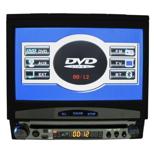 7 Inch Touch Screen Car DVD Player - TV - Anti Shock - Hands-free Function