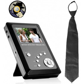 Wireless Spy Necktie Camera Portable Recorder