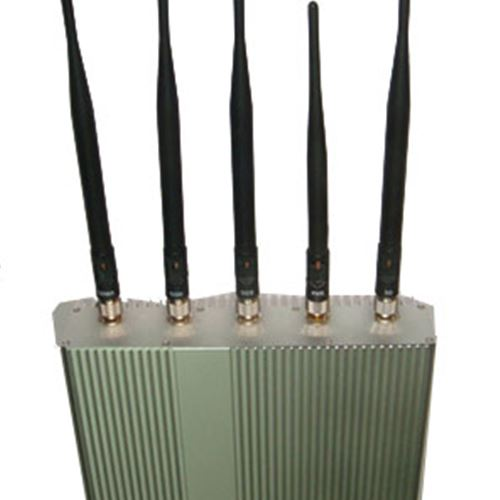 Cell phone blockers jammers | Buy 8W Remote controlled Jammer with Omni directional antenna Phone+3G Jammers, price $116