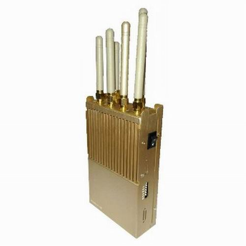 Portable Hand-Held 3G 4G Cell Phone WiFi Jammer