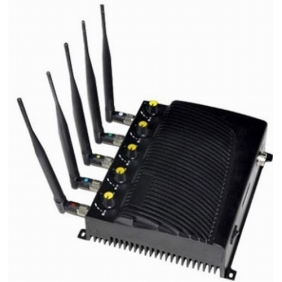 Adjustable 3G GSM Cell Phone Jammer with Five Bands