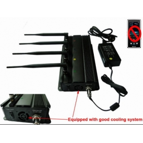 GPS and Cell Phone Signal Jammer with Car Charger - Shielding Range Up to 30 meters