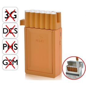 Cigarette Box Style Design Mini Portable Hidden Cell Phone Jammer