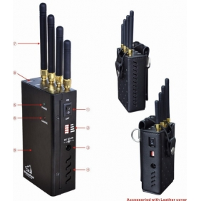Wifi and Cell Phone Jammer with Single-Band Control - Shielding Radius Range 15 Meters