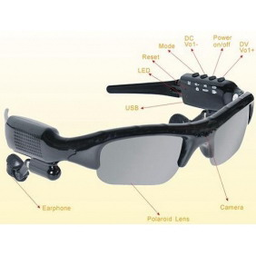 2GB MP3 Sunglasses with Camera FM