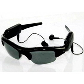 2GB MP3 Sunglasses DVR with TF Card Slot