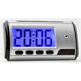 Spy Camera Clock with Motion Detection and Remote Control