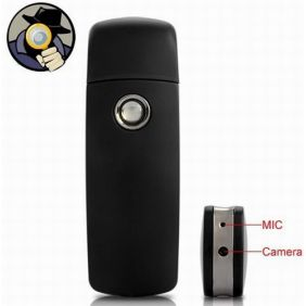 USB Flash Drive Spy Camera DVR With Motion Detection