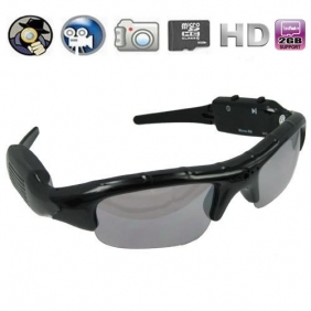 Sunglasses Eyewear DVR with 5.0MP Hidden Lens and TF Card Slot + 4GB Memory card