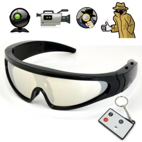 5 Mega Pixels HD 1280 x 720 Resolution Eyewear Camera Sunglasses