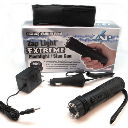 Zap Light Extreme Flashlight Stun Gun Combo