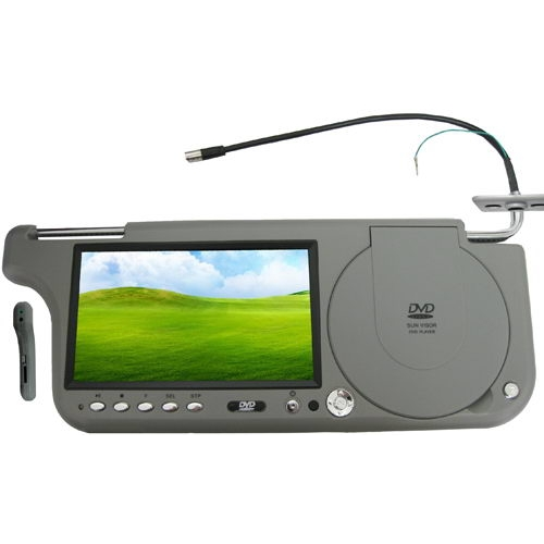 7 inch Sun visor DVD Monitor with FM