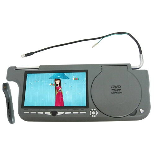 7 Inch Sun Visor Monitors support TV Function and FM Transmit
