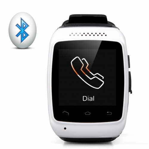 Bluetooth Smart Watch Pedometer - 1.54 Inch Capacitive Touch Screen Phone Syncing