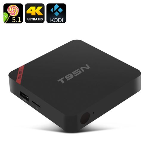 T95N-MINI MX+ Android TV Box - 4K, Android 9.1, Amlogic S905, Kodi, HDMI, 1GB RAM + 8GB Memory